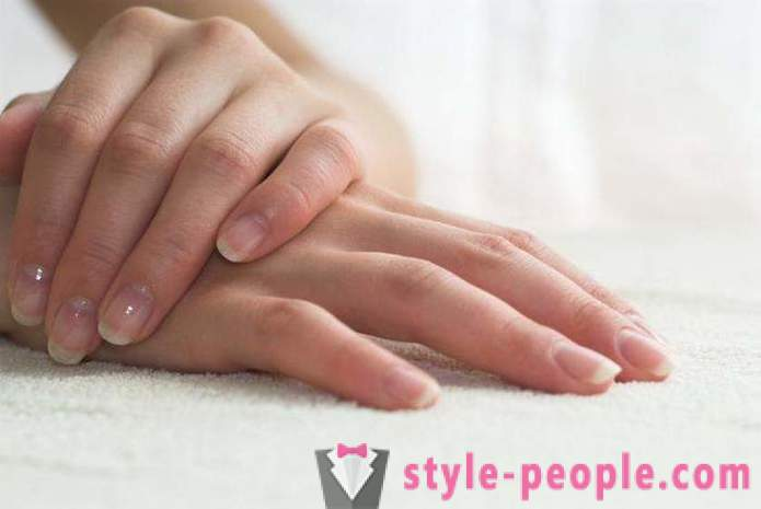 Why exfoliate fingernails? we find the answer