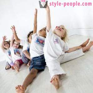Morning gymnastics for children and adults