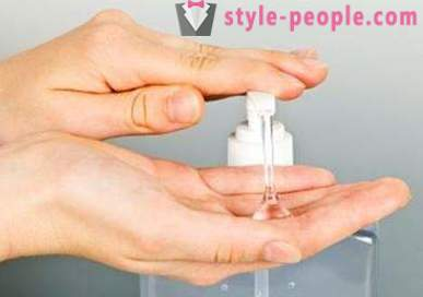 Hand sanitizer - effective protection against microbes and gentle skin care