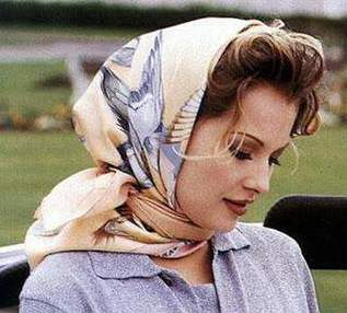 Learn how to tie a scarf on your head correctly and stylish.
